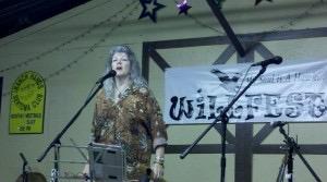 Amy Carol Webb at the Will McLean Folk Festival March 2012