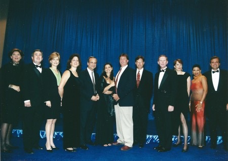 Donna at Edward R. Murrow Awards Ceremony in Minneapolis MN 2000