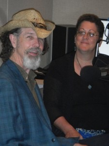 With Singer songwriter and musician Walter Parks
