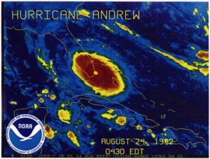 Hurricane Andrew, August 1992