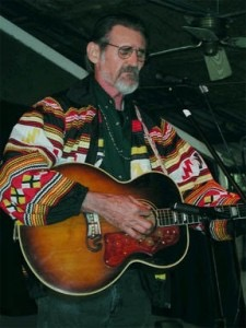 Singing at the Will McLean Folk Festival in 1998
