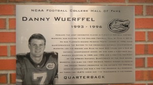 Danny Wuerffel 1993 to 1996