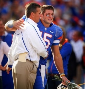 Tim Tebow & Urban Meyer 1
