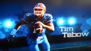 Tim Tebow running