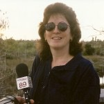 Co-producer Donna Green-Townsend Gathering interviews in Apalachicola, FL
