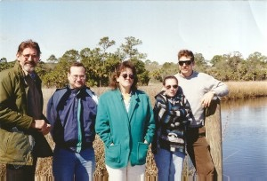 Dale Crider, Josh Azriel, Donna Green-Townsend and George Floyd and friend