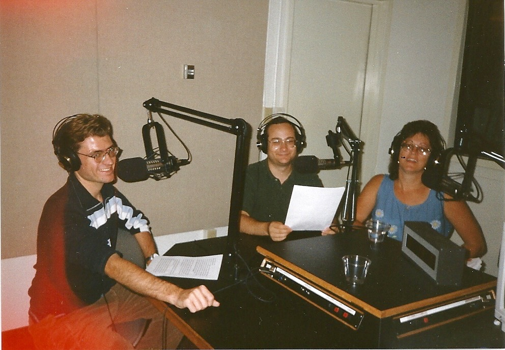 (from left to right) Daniel Beasley, Joshua Azriel and Donna Green-Townsend