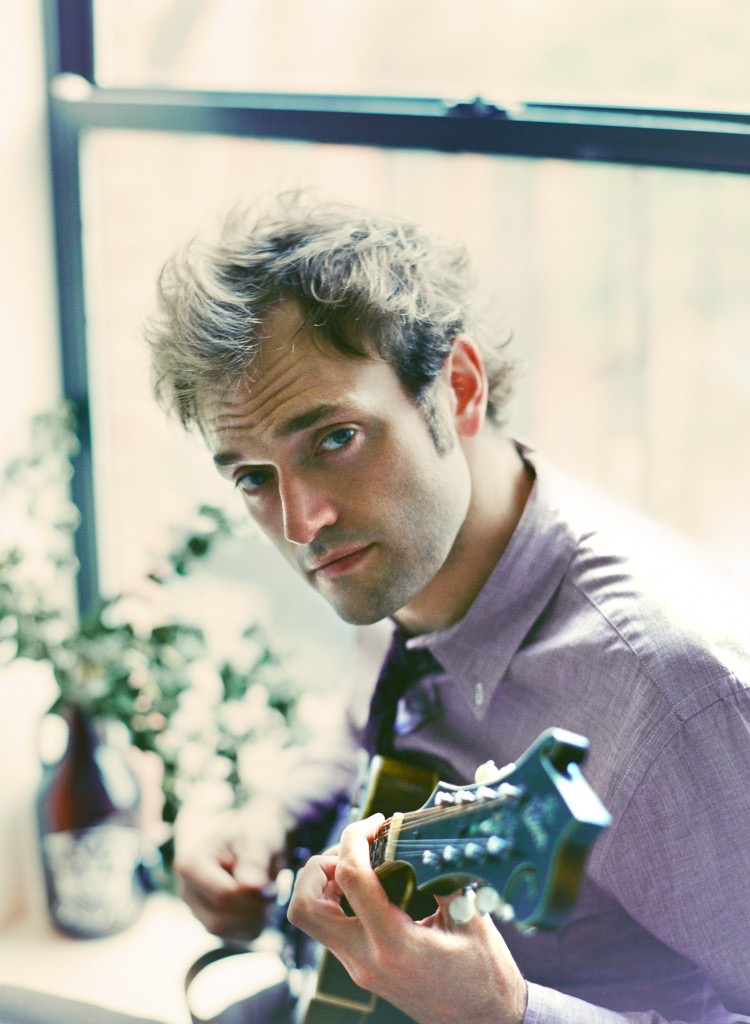 Mandolinist and MacArthur Fellow Chris Thile (photo courtesy of Brantley Gutierrez)