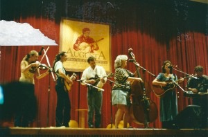 Performing in August, WV at Elkins College in 2000
