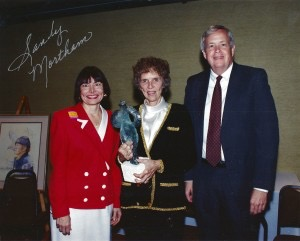Margaret Longhill at McLean Hall of Fame Induction 1996