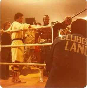Rocky III filming in 1981