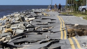Damage from Hurricane Hermine (Photo Credit CNN)
